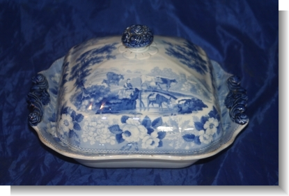 RURAL SCENERY TUREEN & COVER