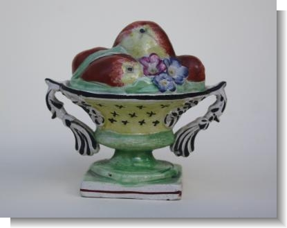 RARE & UNUSUAL BASKET OF FRUIT, c.1810