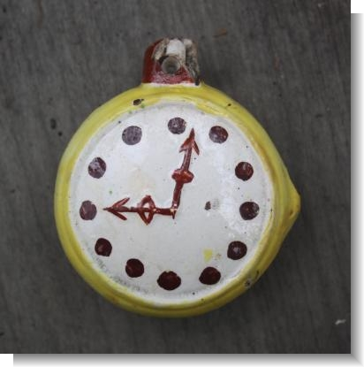 RARE STAFFORDSHIRE POCKET WATCH.